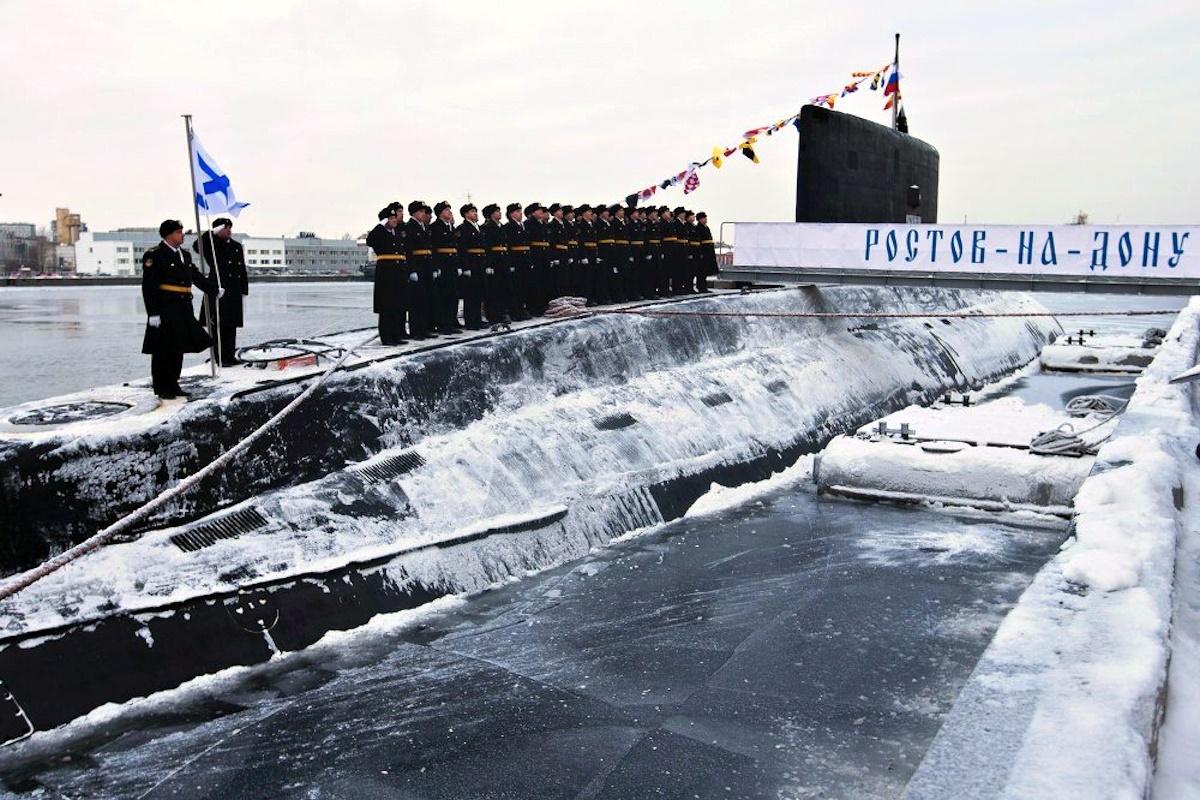 00 russian submarine rostov-na-donu. 04.01.15