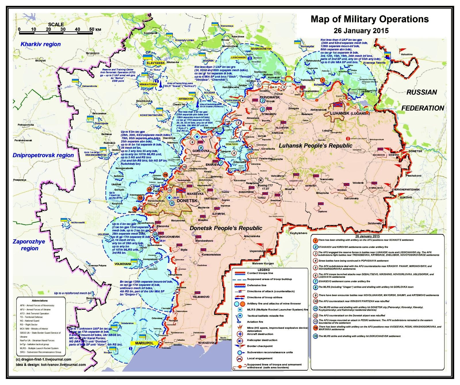 00 sitrep map Novorossiya 02. 27.01.15