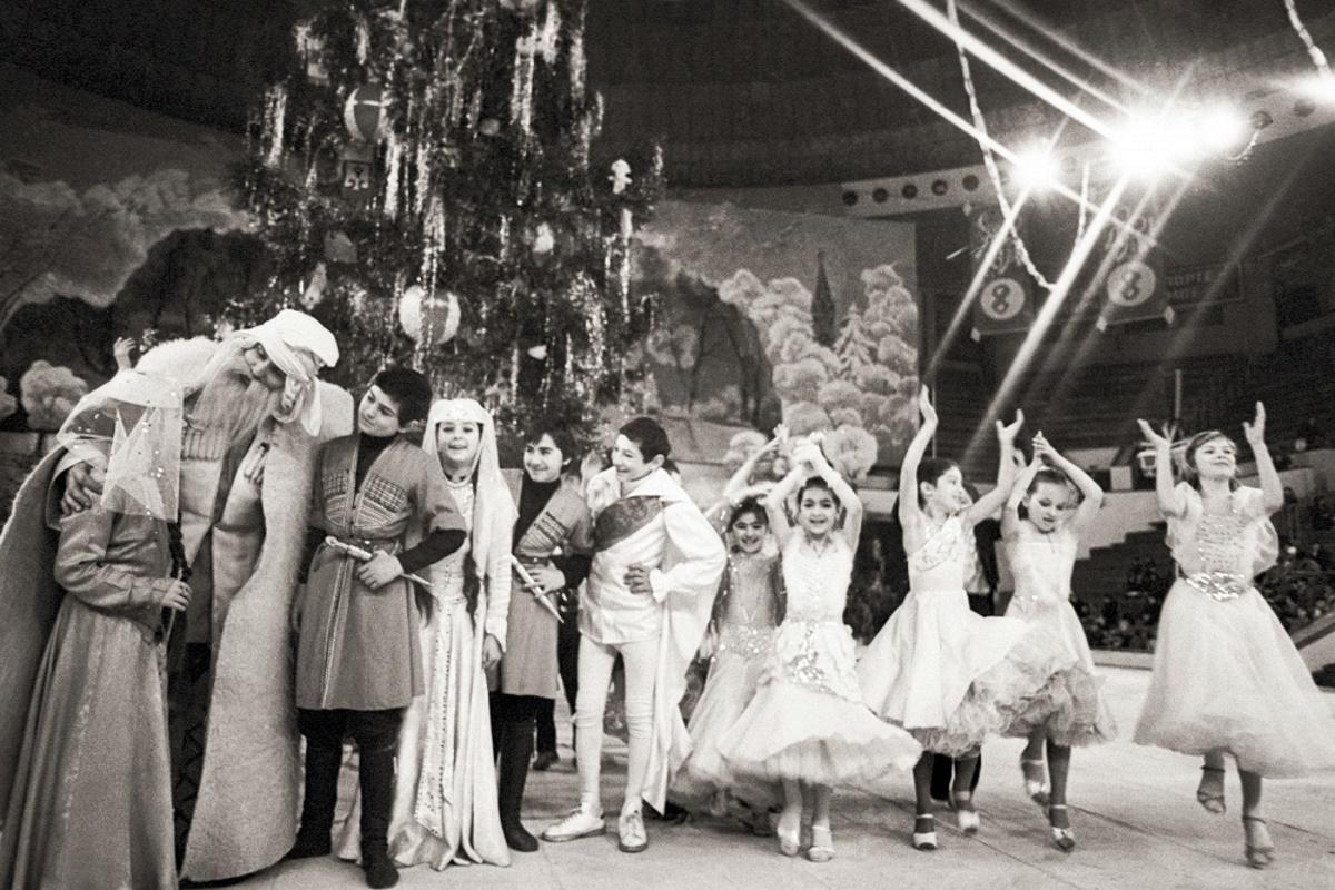 00 Soviet New Year 06. Tbilisi. Georgian SSR. 01.01.15