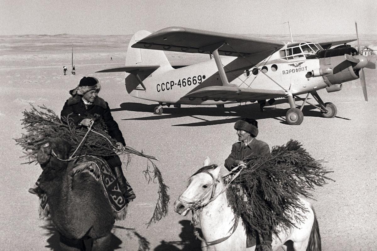 00 Soviet New Year 12. Uzbek SSR 1965. 01.01.15