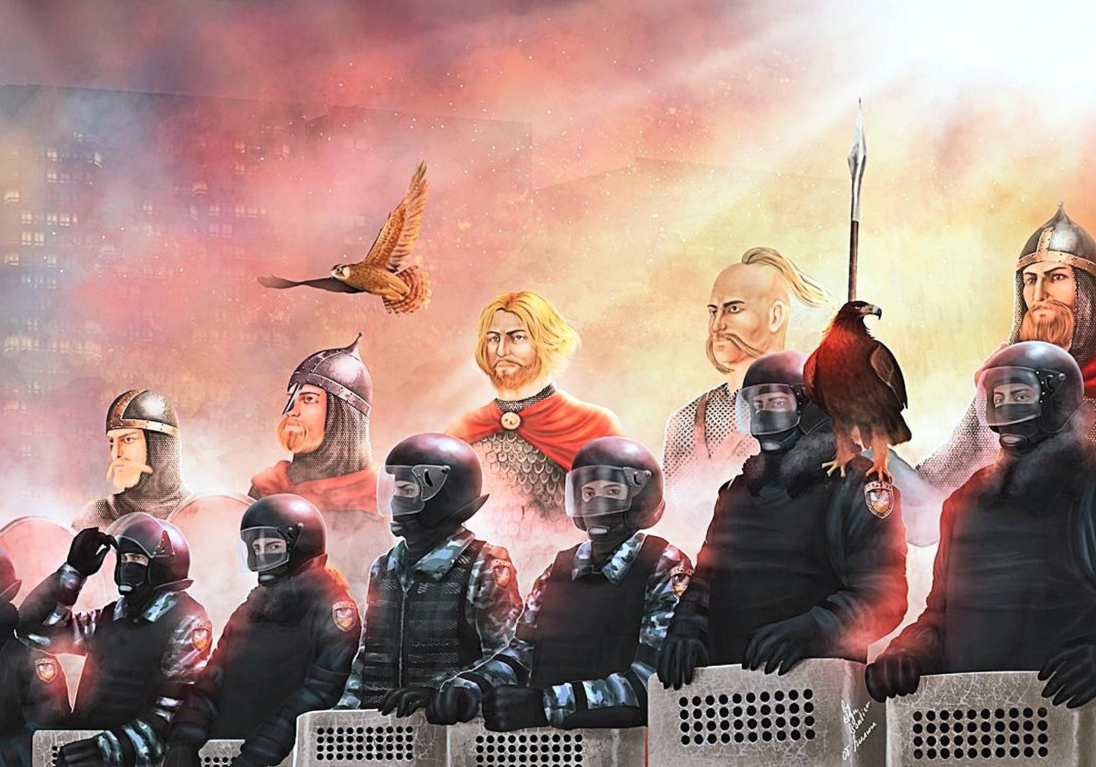 00 Berkut... Heroes of the Ukraine. 22.02.15