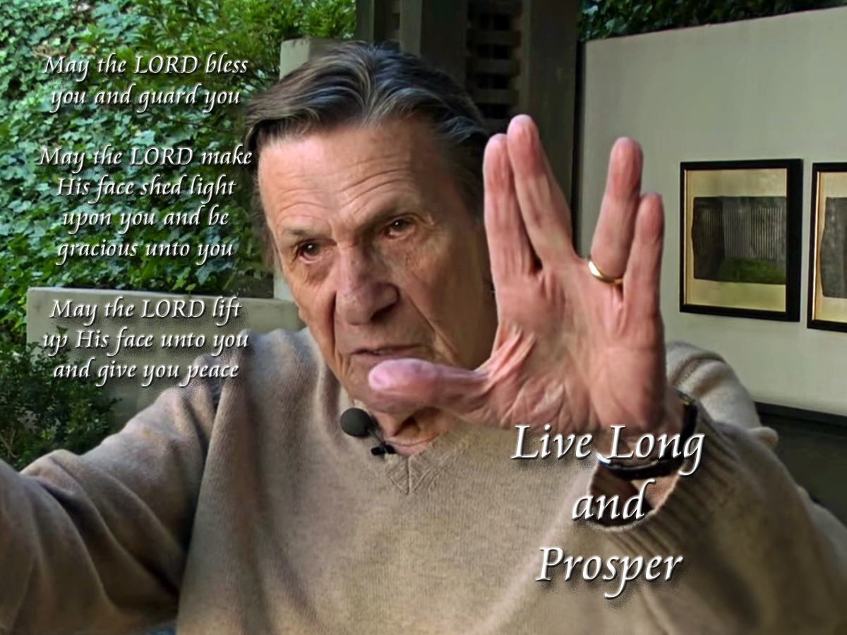 00 Leonard Nimoy. live long and prosper. 28.02.15