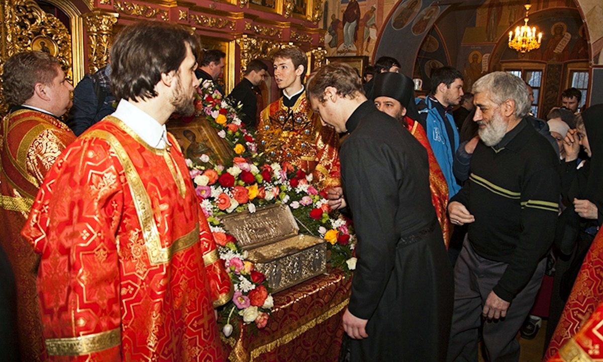 00 relics of st demetrios of salonika a. moscow. 07.02.15