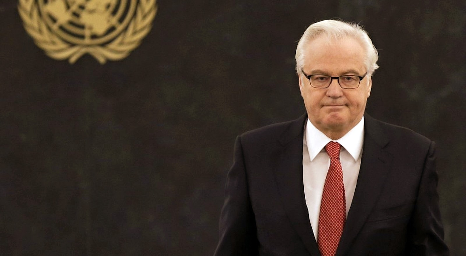 00 russian UN Ambassador Vitaly Churkin. 19.01.15