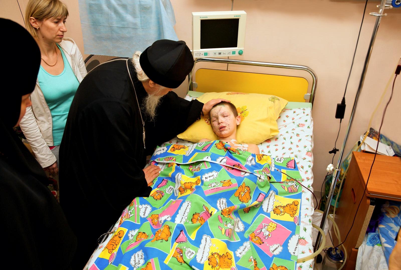 00 wounded child. novorossiya. 08.02.15