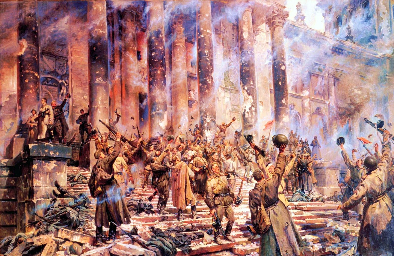 Pyotr Krivonogov. Victory! 1948