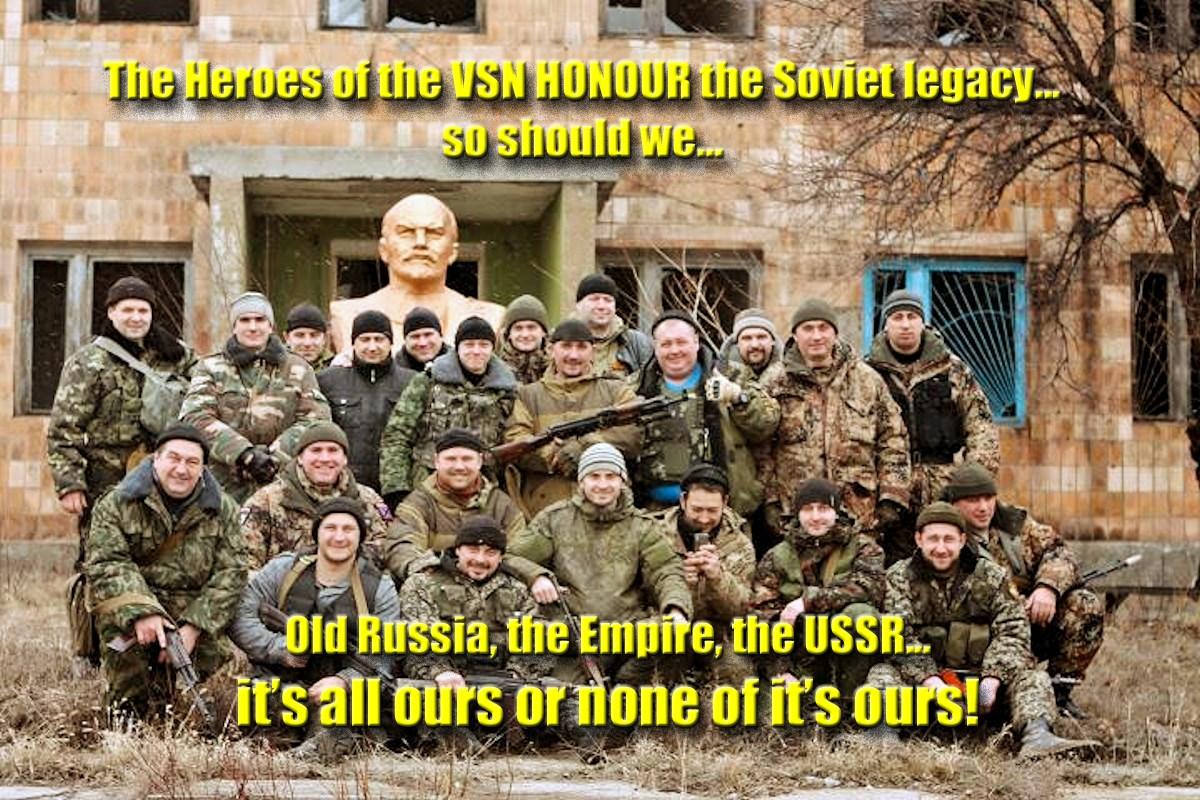 00 Debaltsevo. DNR. Novorossiya. VSN with Lenin. 13.03.15