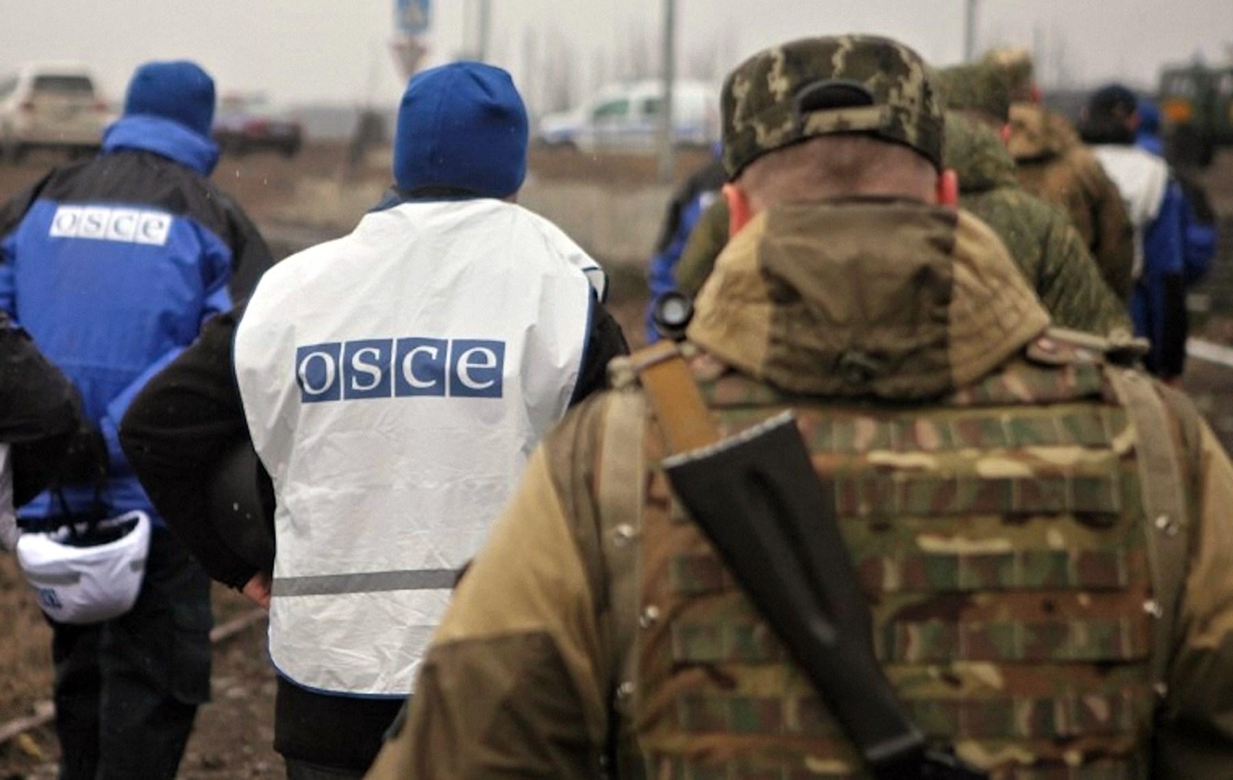 00 OSCE observers. DNR. Novorossiya. 24.03.15