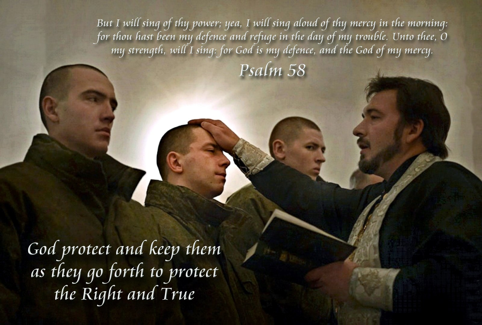 00 Psalm 58. Russian soldiers. 03.03.15