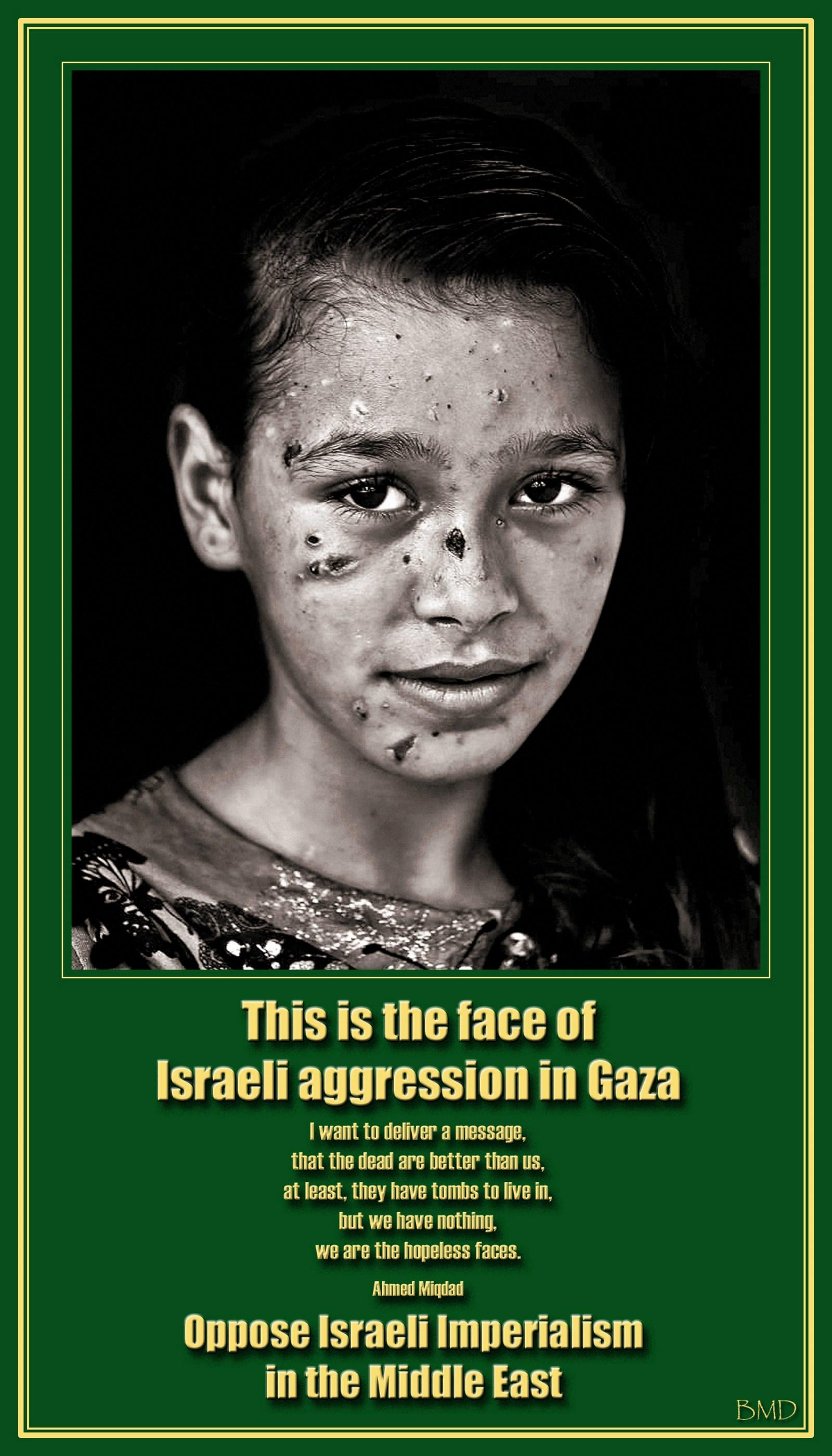 00 Gaza girl. 13.04.15