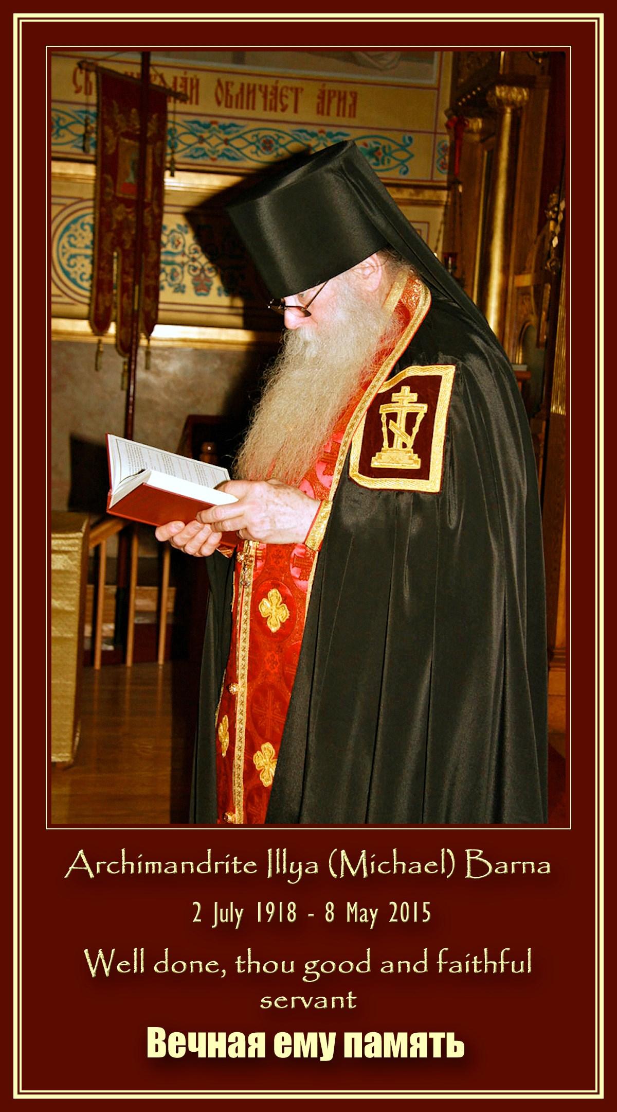 00 Archimandrite Illya Barna. 11.05.15