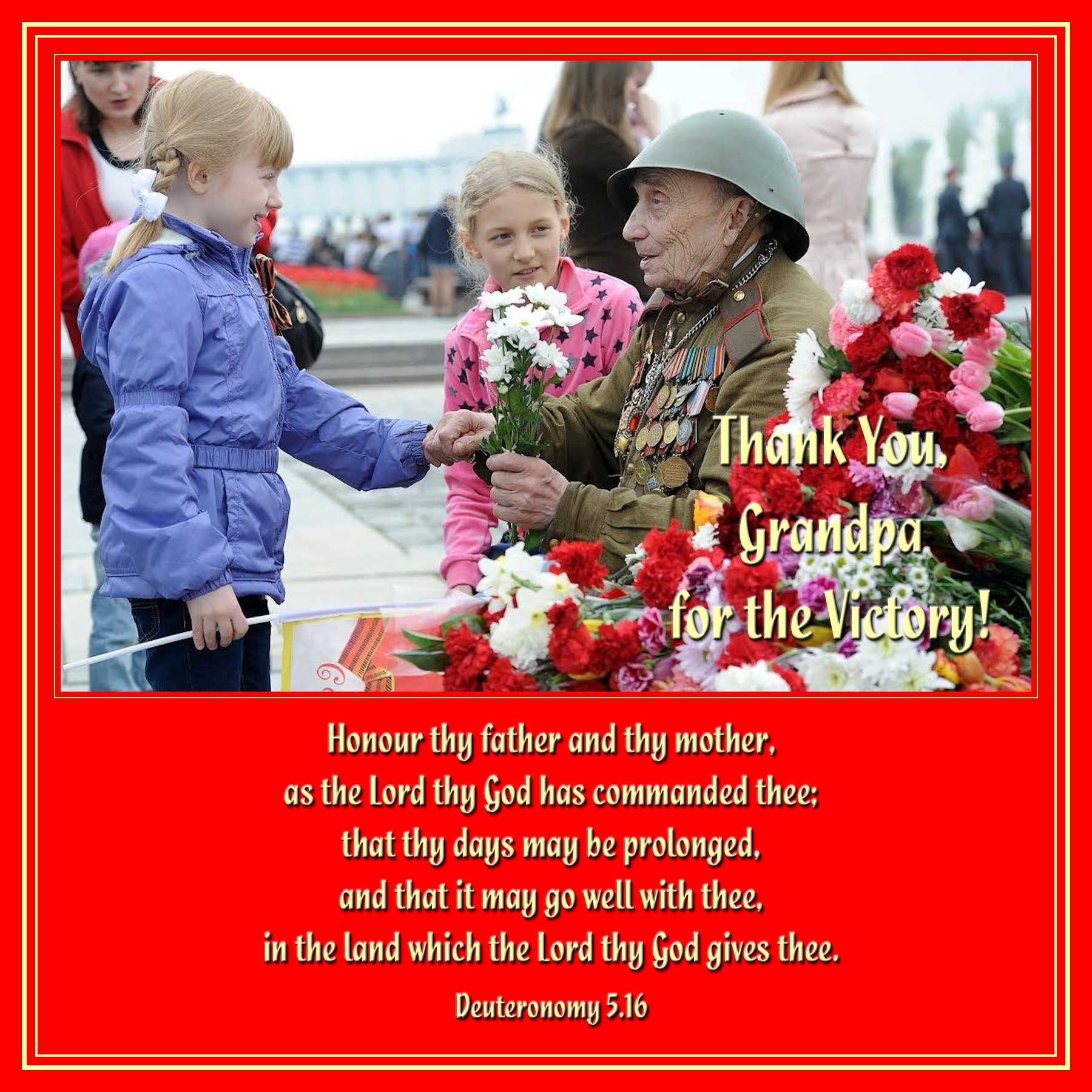 00 Honour Thy Father and Thy Mother. victory day 01 old veteran russia. 22.04.15