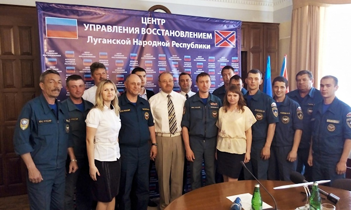 00 lugansk. lnr. MChS. humanitarian convoys. 28.05.15