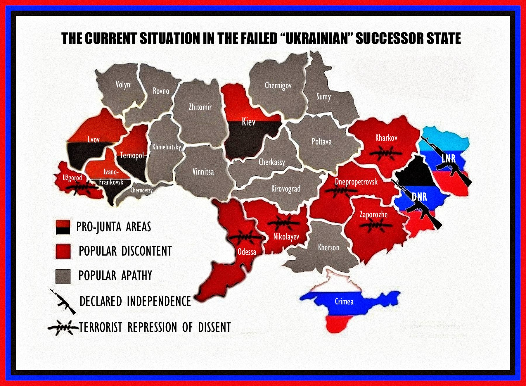 00 map of the ukraine... current conflict. 24.05.15