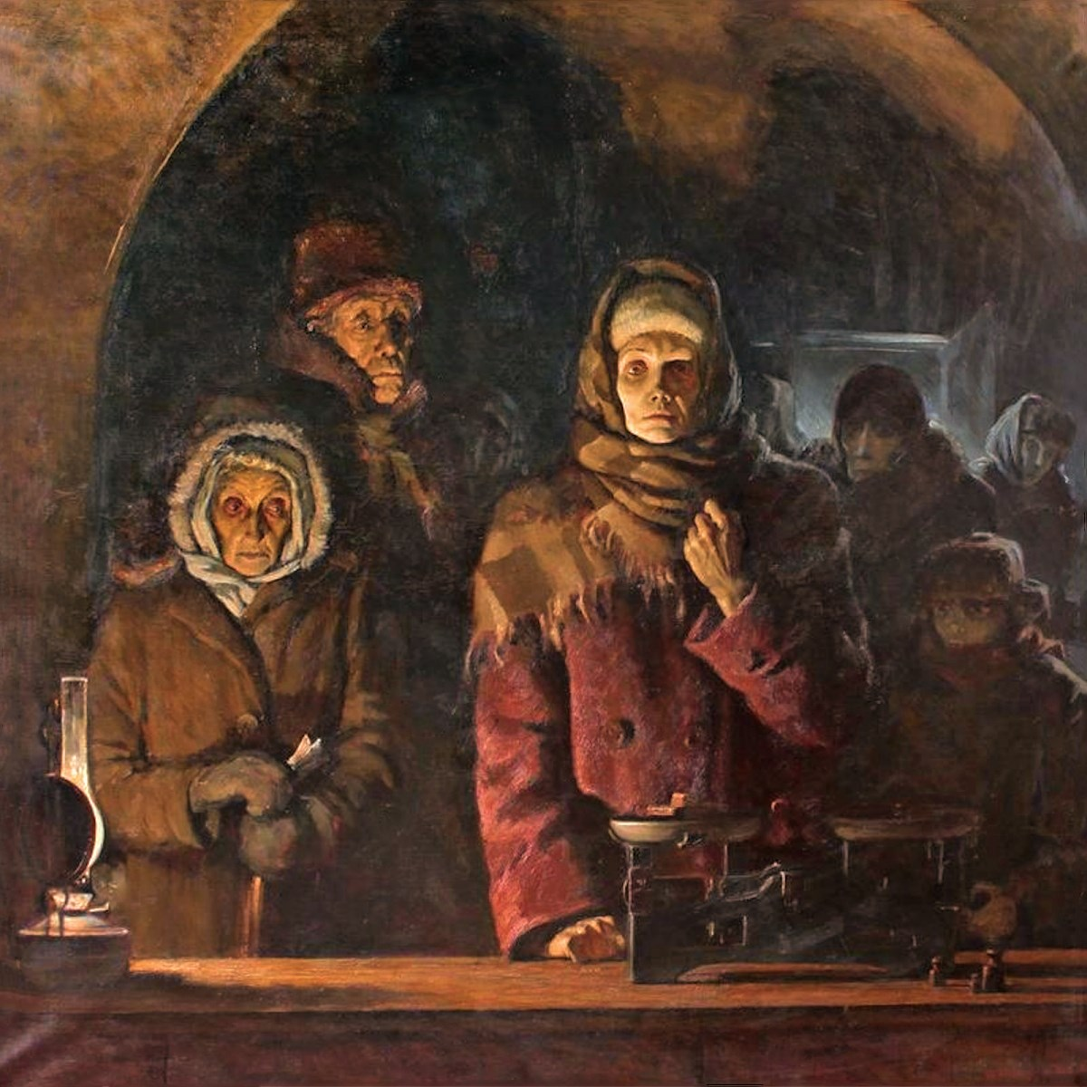 00 Nikita Tsytsin The Bread of the Blockade. 1987