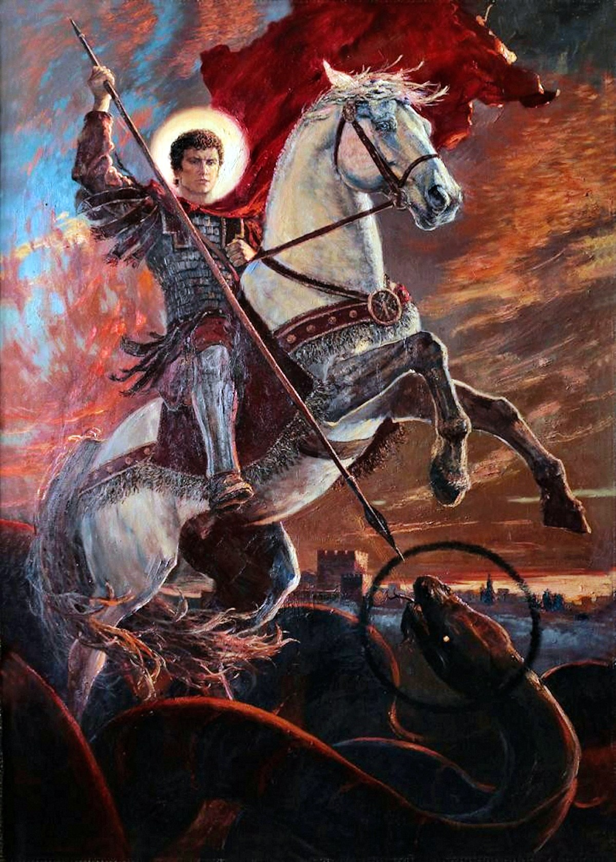 00 Vladimir Kireyev. St George the all-Victorious (Eternal Struggle and Eternal Victory). 2014