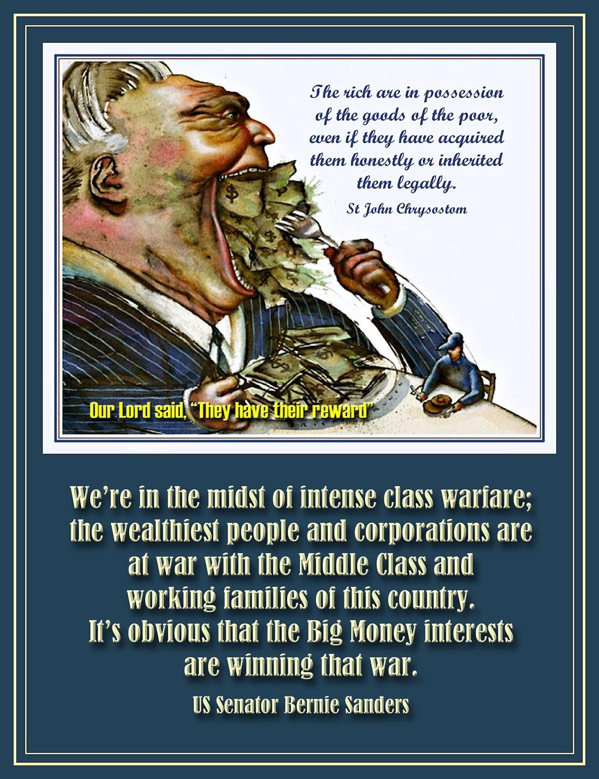 00 Bernie Sanders. rich man. 09.06.15