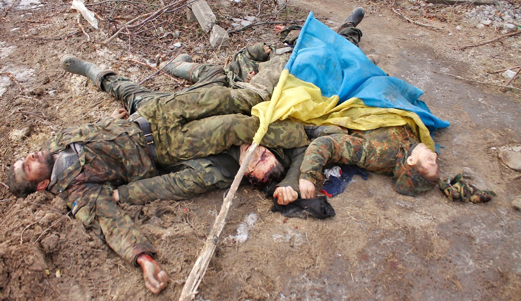 00 dead ukrainian soldiers, Krasny Partizan 01. 06.06.15