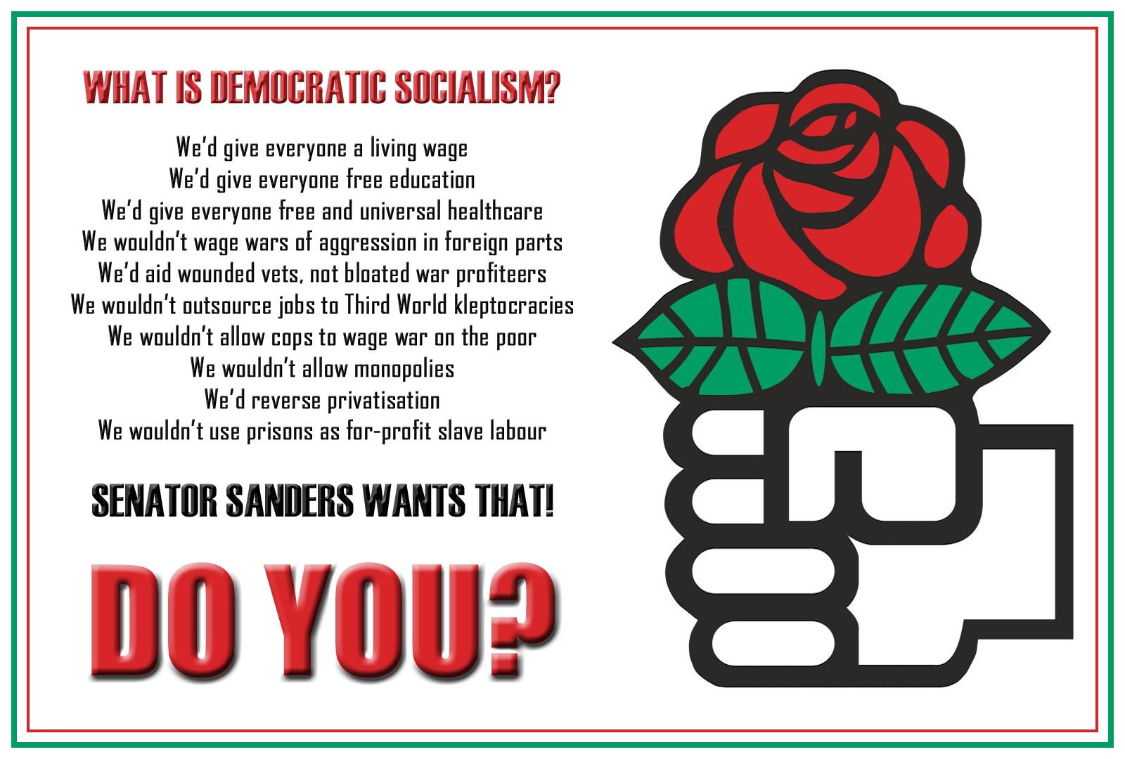 00 democratic socialism. 06.06.15