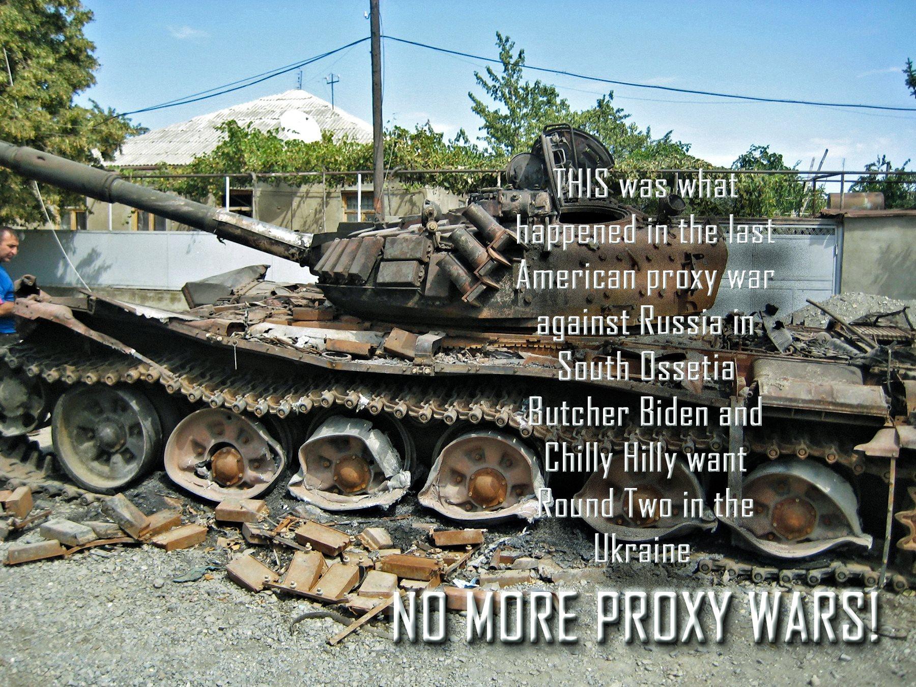 00 destroyed georgian tank. 130615