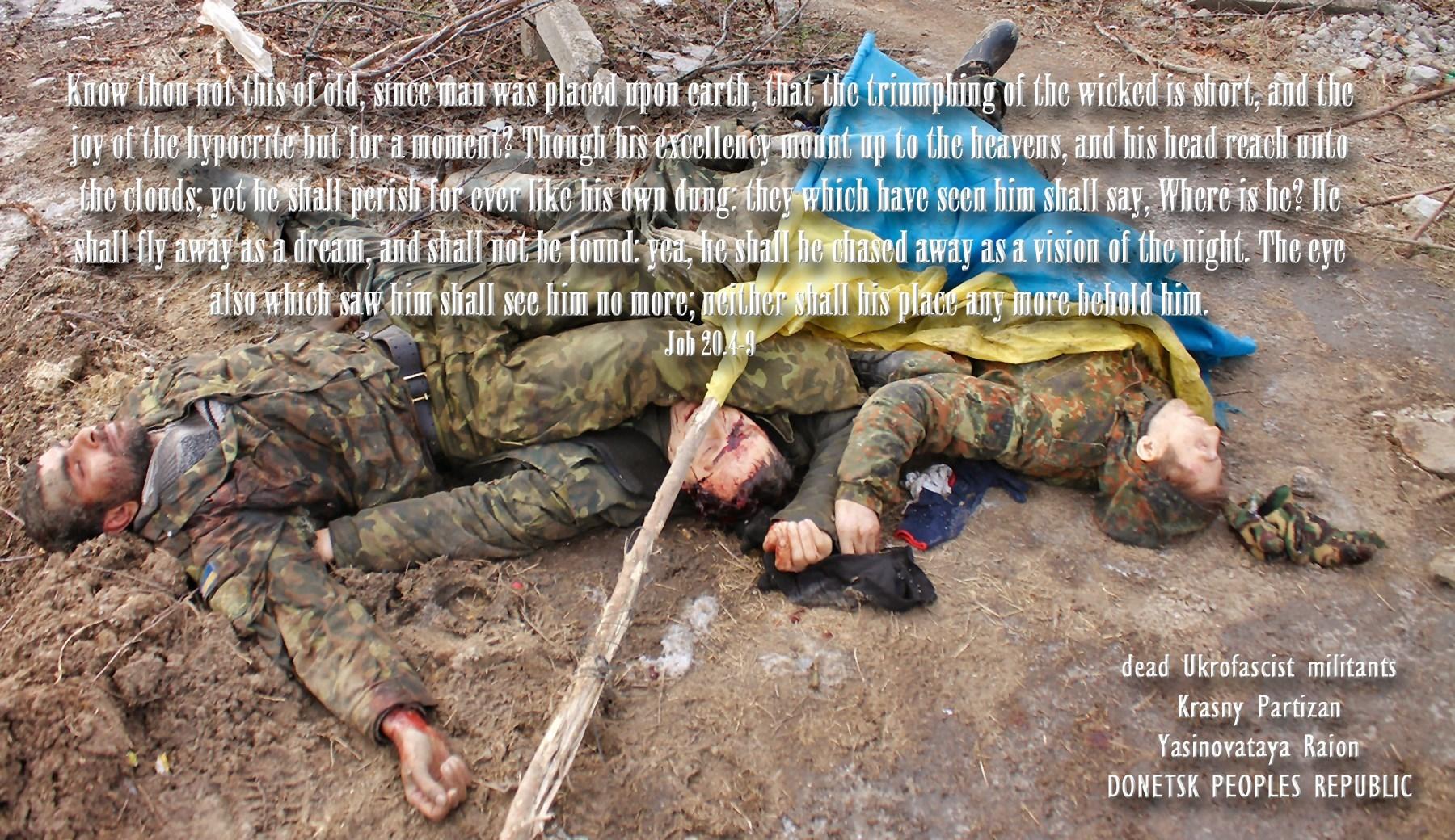 00 Job. dead ukrainian soldiers, Krasny Partizan 01. 06.06.15