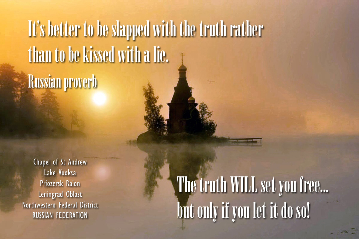 00 Russian Proverb. the truth. 06.06.15