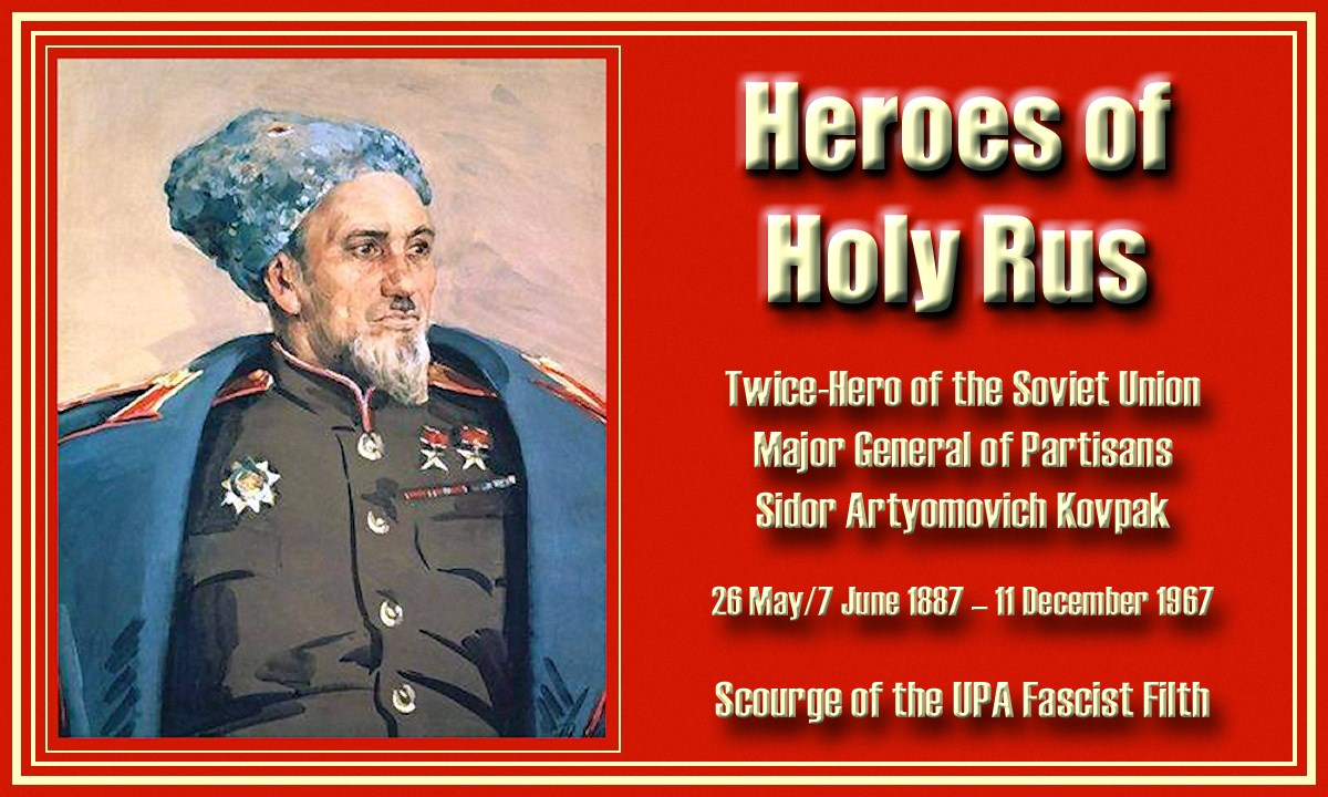 00 S A Kovpak. Soviet partisan leader. 260615