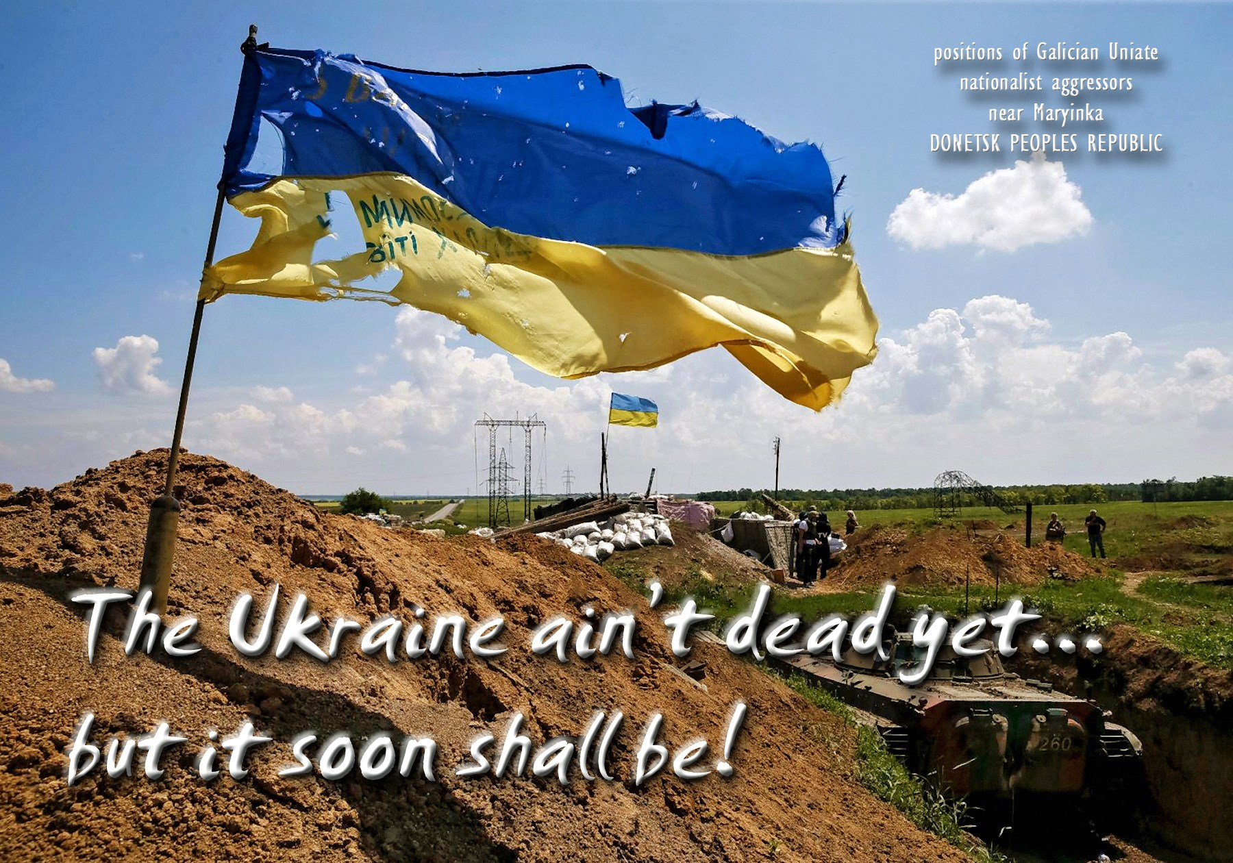 00 the ukraine aint dead yet.. but soon shall be. 09.06.15