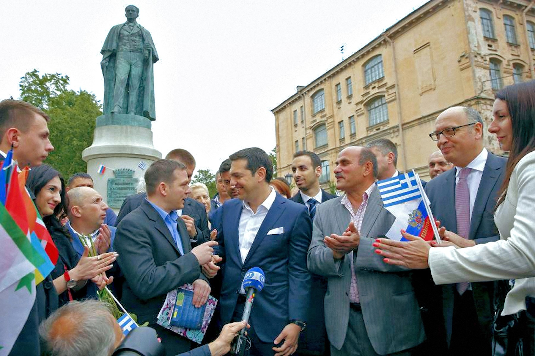 00 Tsipras. Greece. St Petersburg. 210615