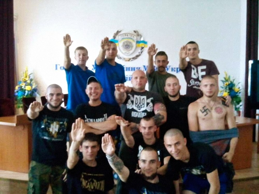 00 ukrainian nationalists. azov battalion. 06.06.15