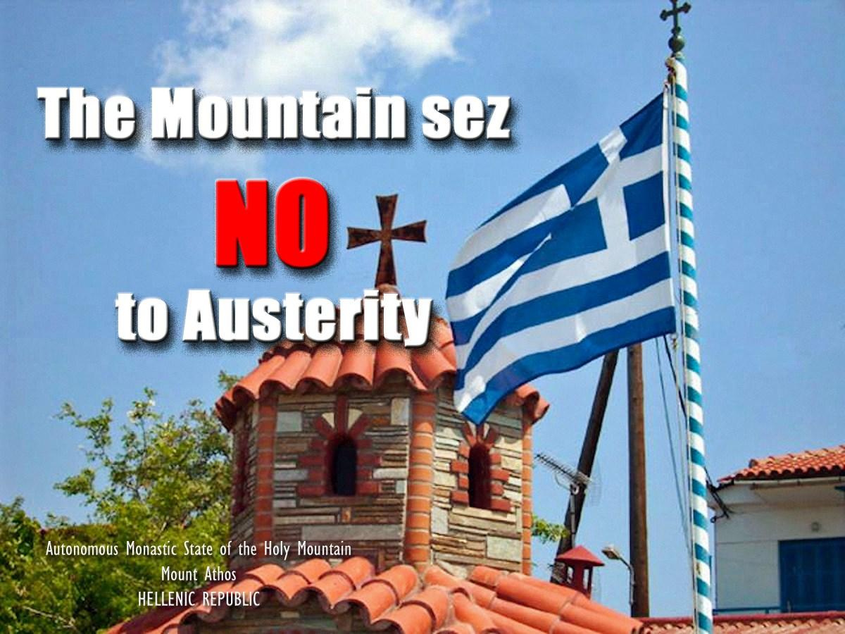 00 athos says no to austerity. 050715