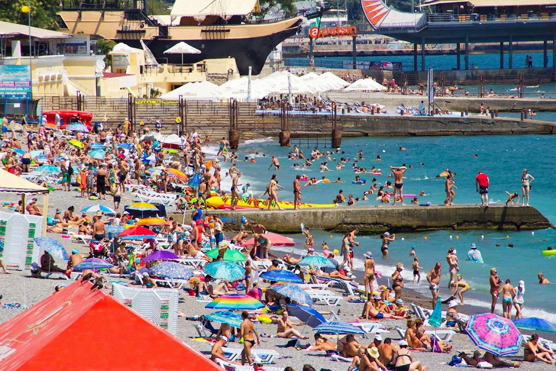 00 crimea. yalta beach. 300715