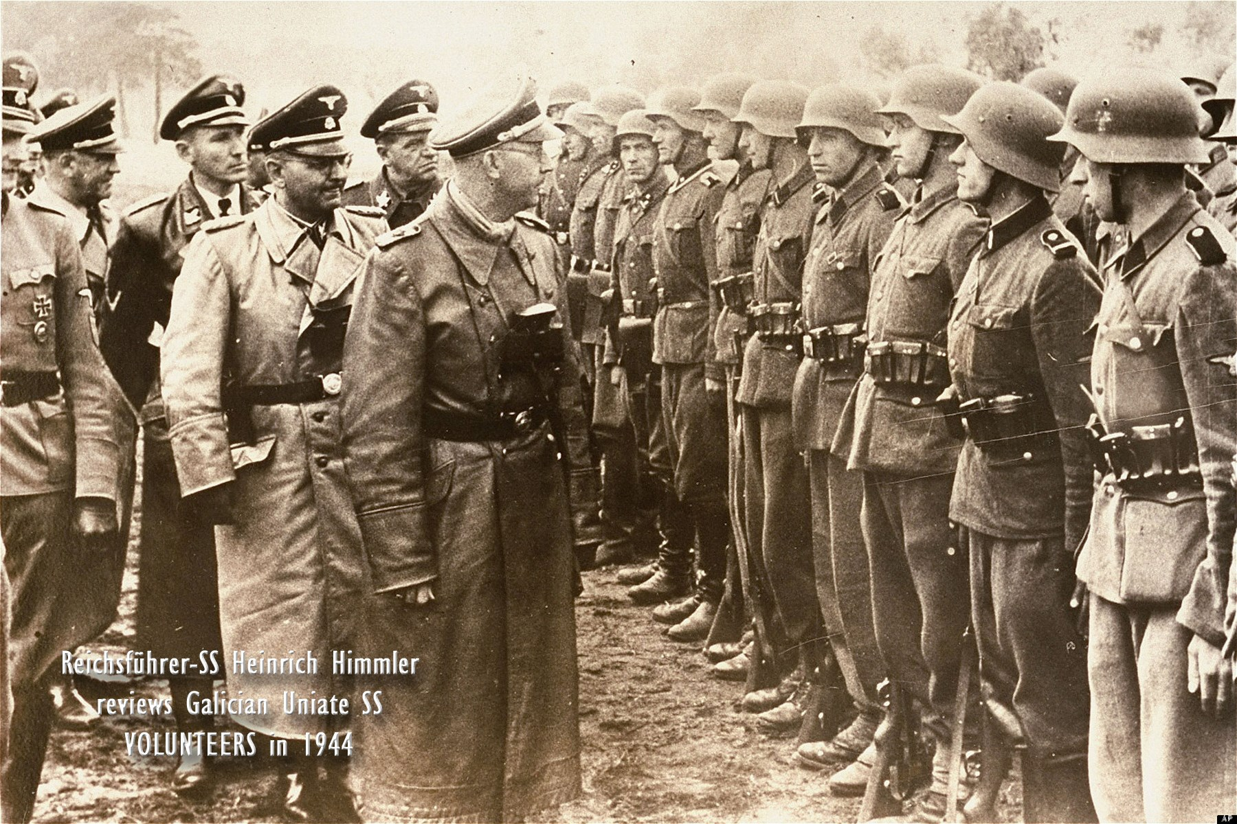 00 himmler and galician uniate nationalist volunteers. 230715