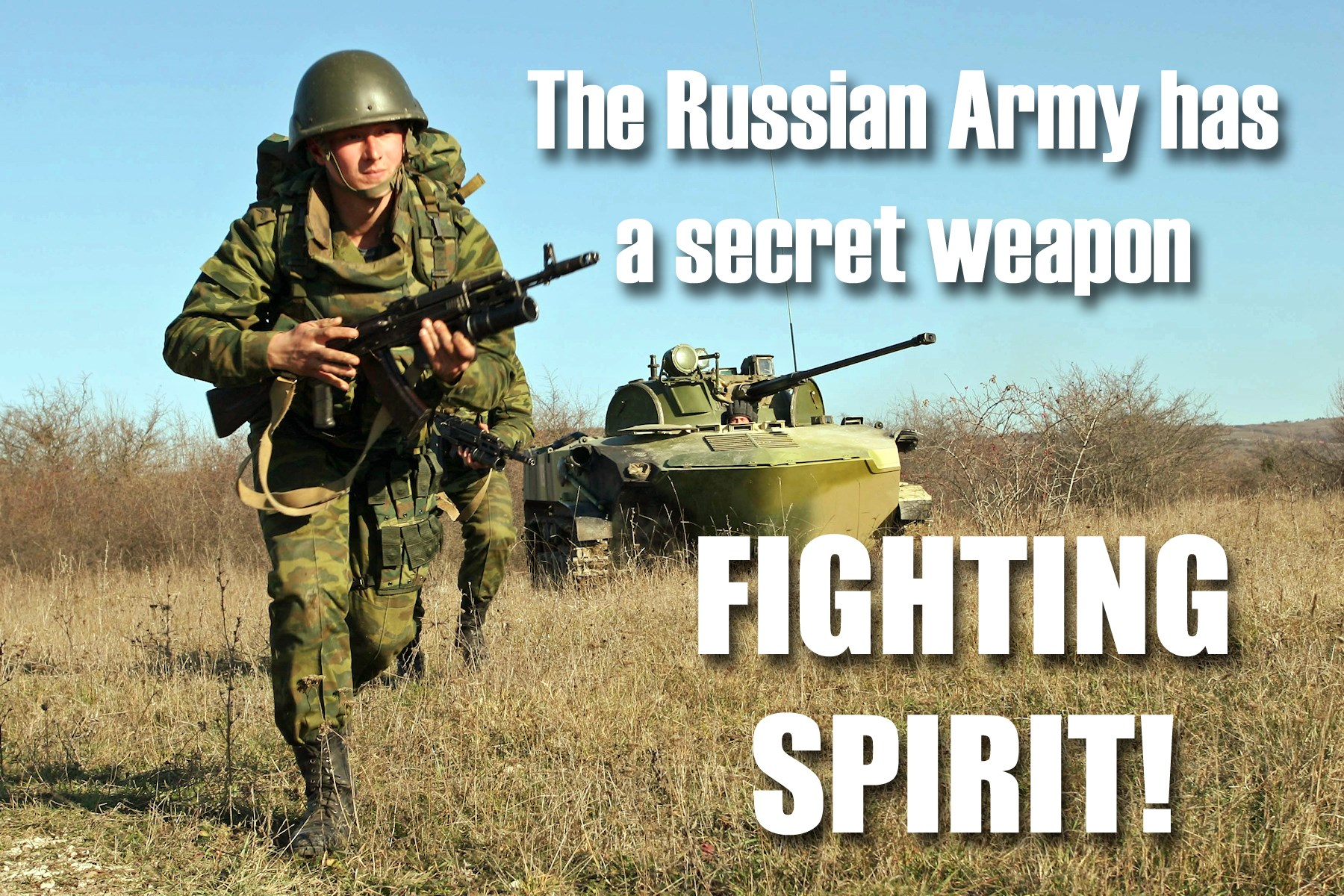 00 The Russian army. fighting spirit. 130715