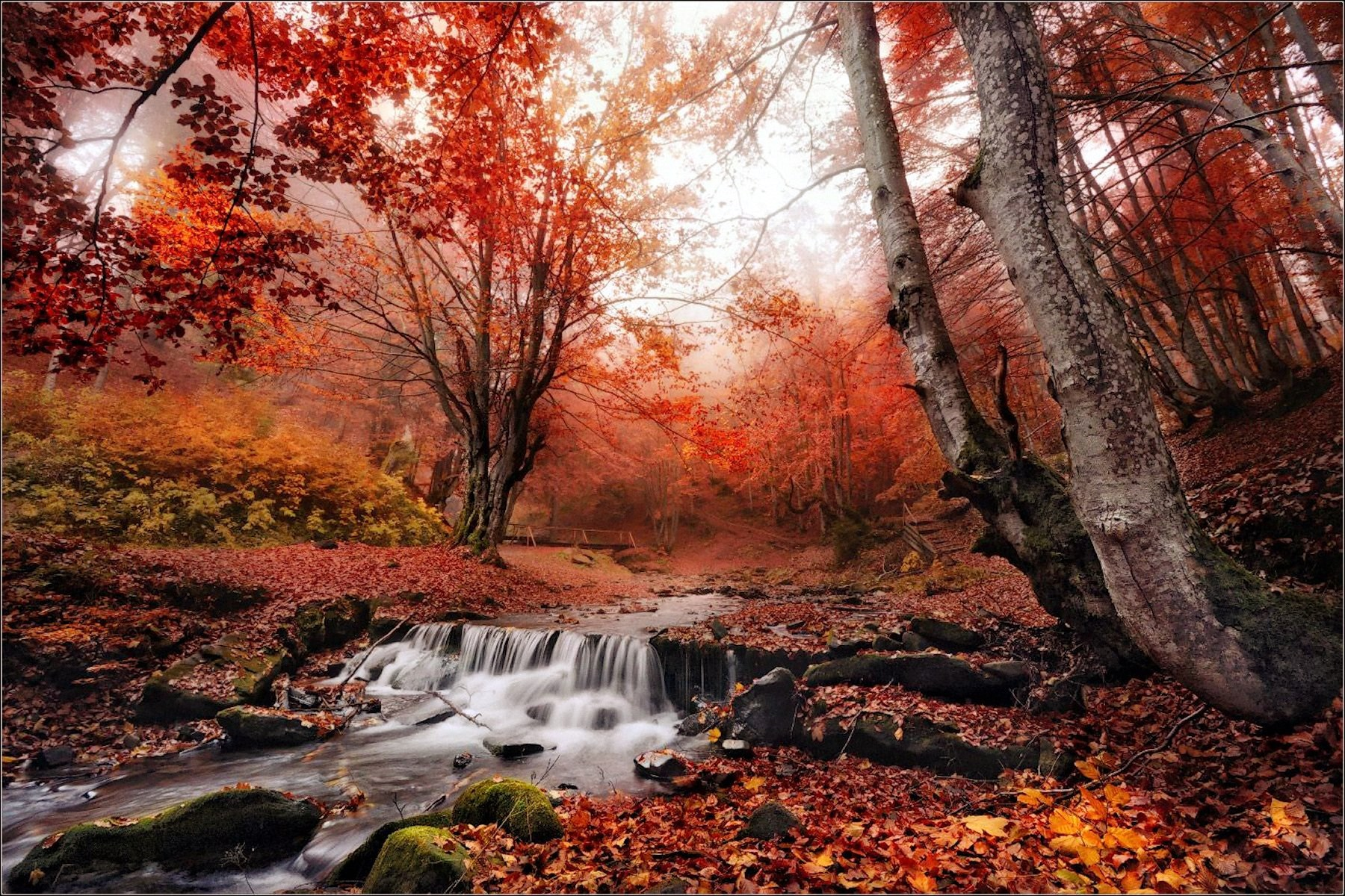 00 Vlad Sokolovsky. A Little Waterfall in Podkarpatskaya Krai. 2015