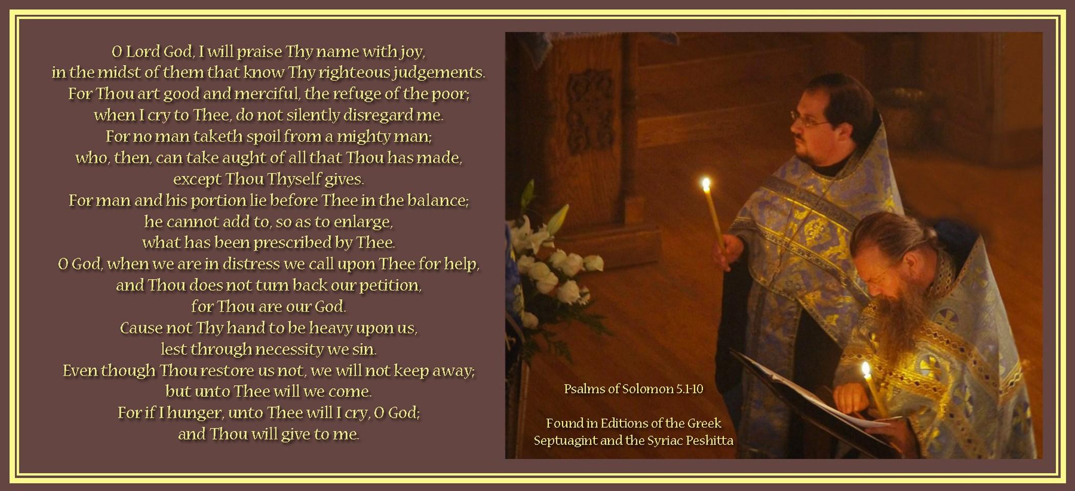 00 psalm of solomon priests 290815