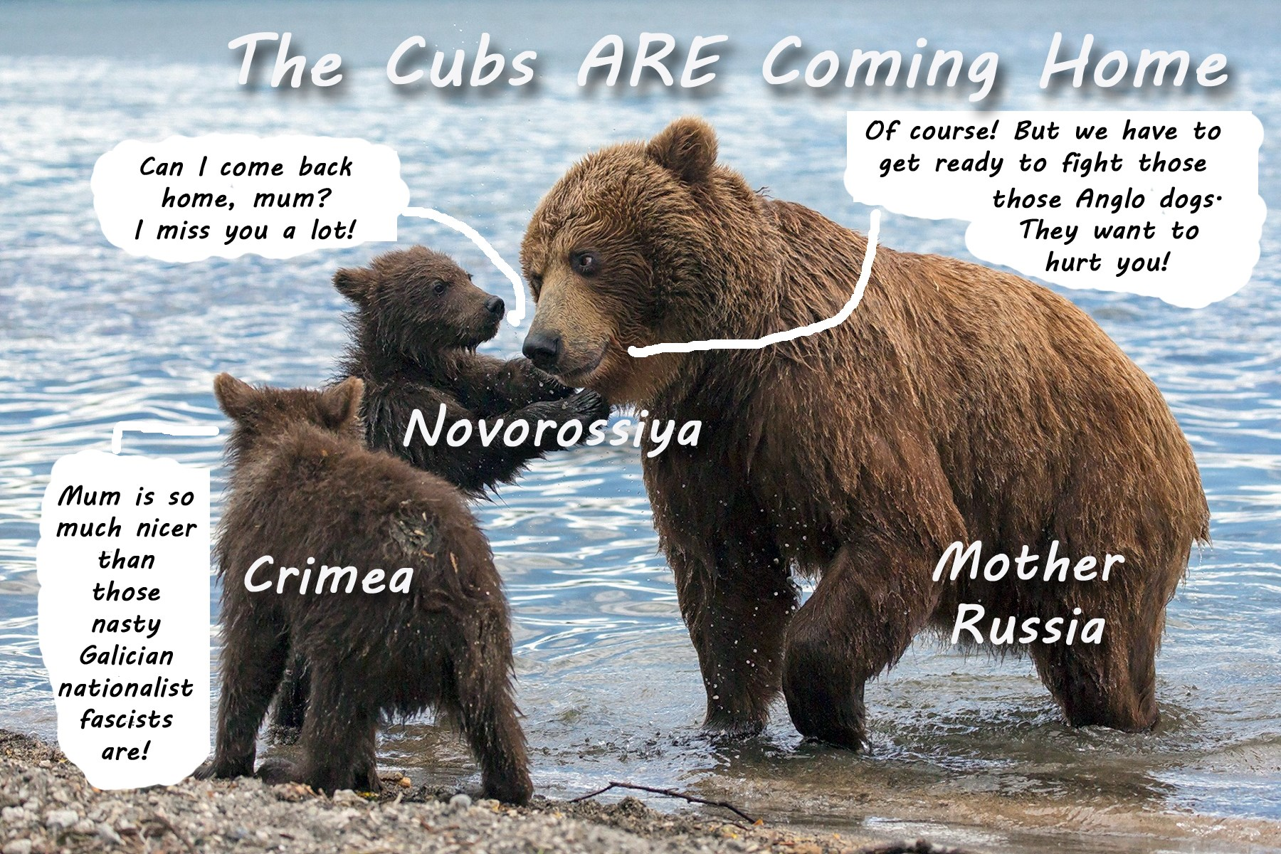 00 the cubs are coming home russian bears160815