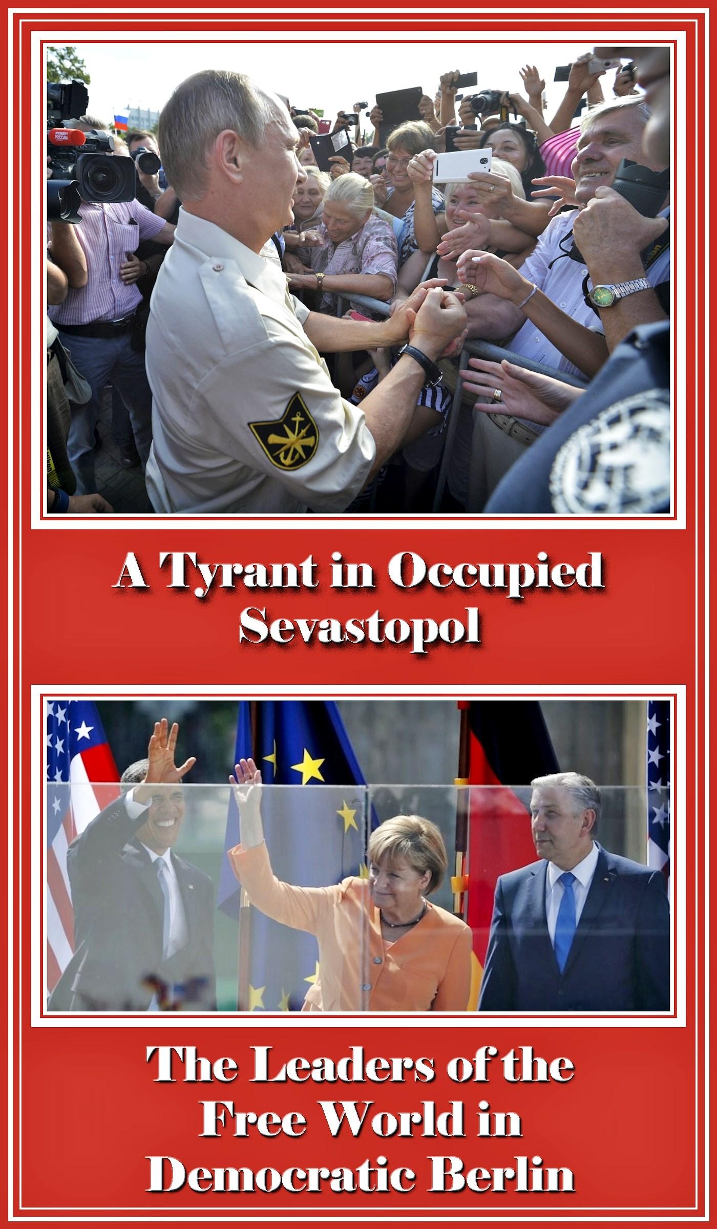 00 tyrant in occupied sevastopol