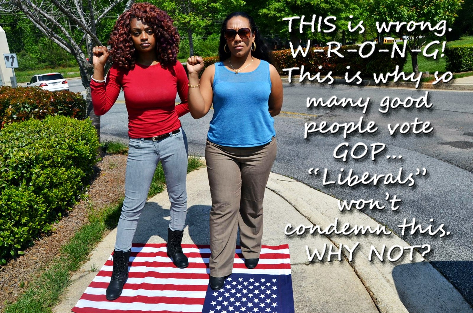 00 usa stepping on the flag is no good 270815