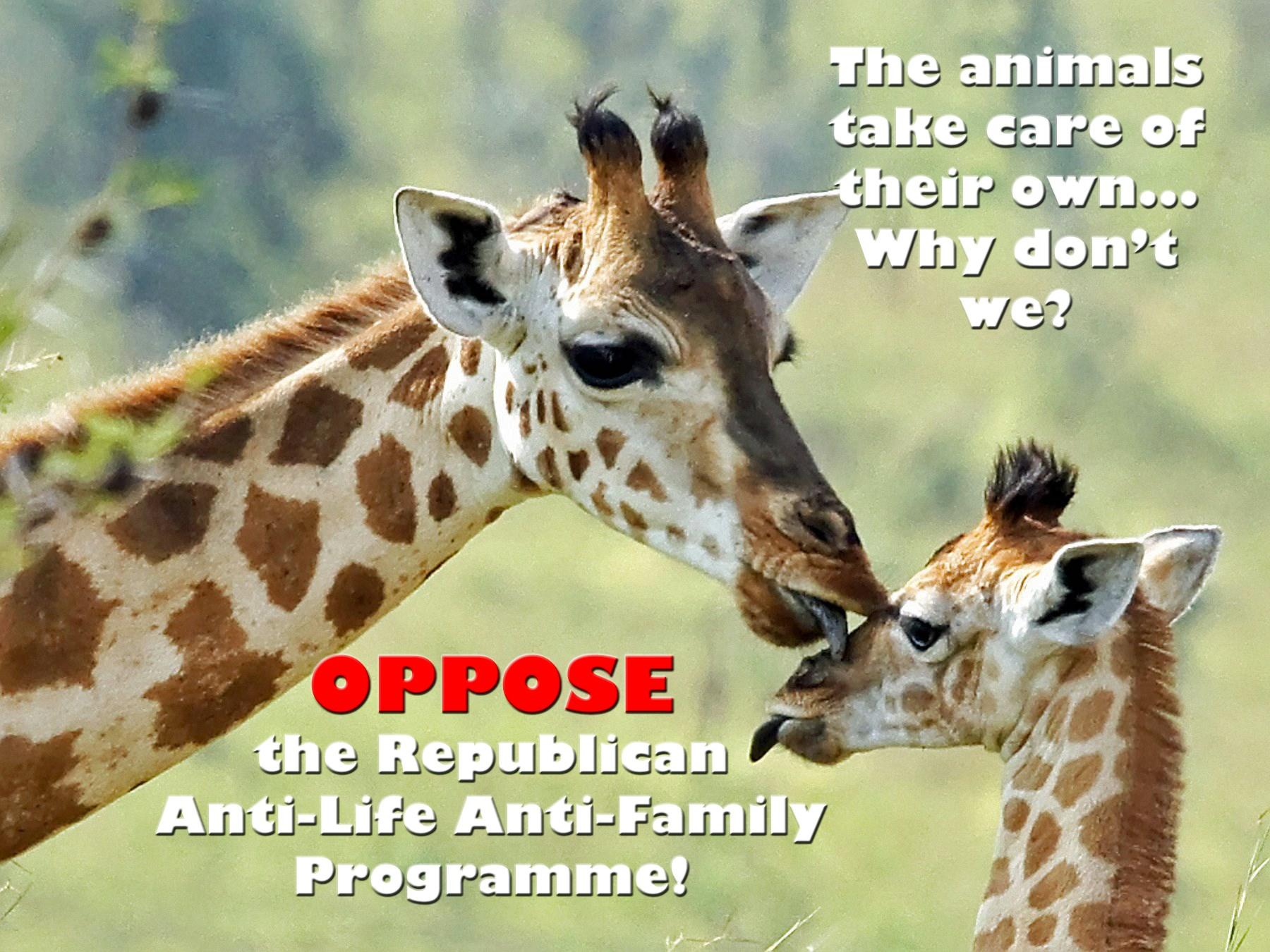 00 Oppose the GOP Anti-Life programme 130915