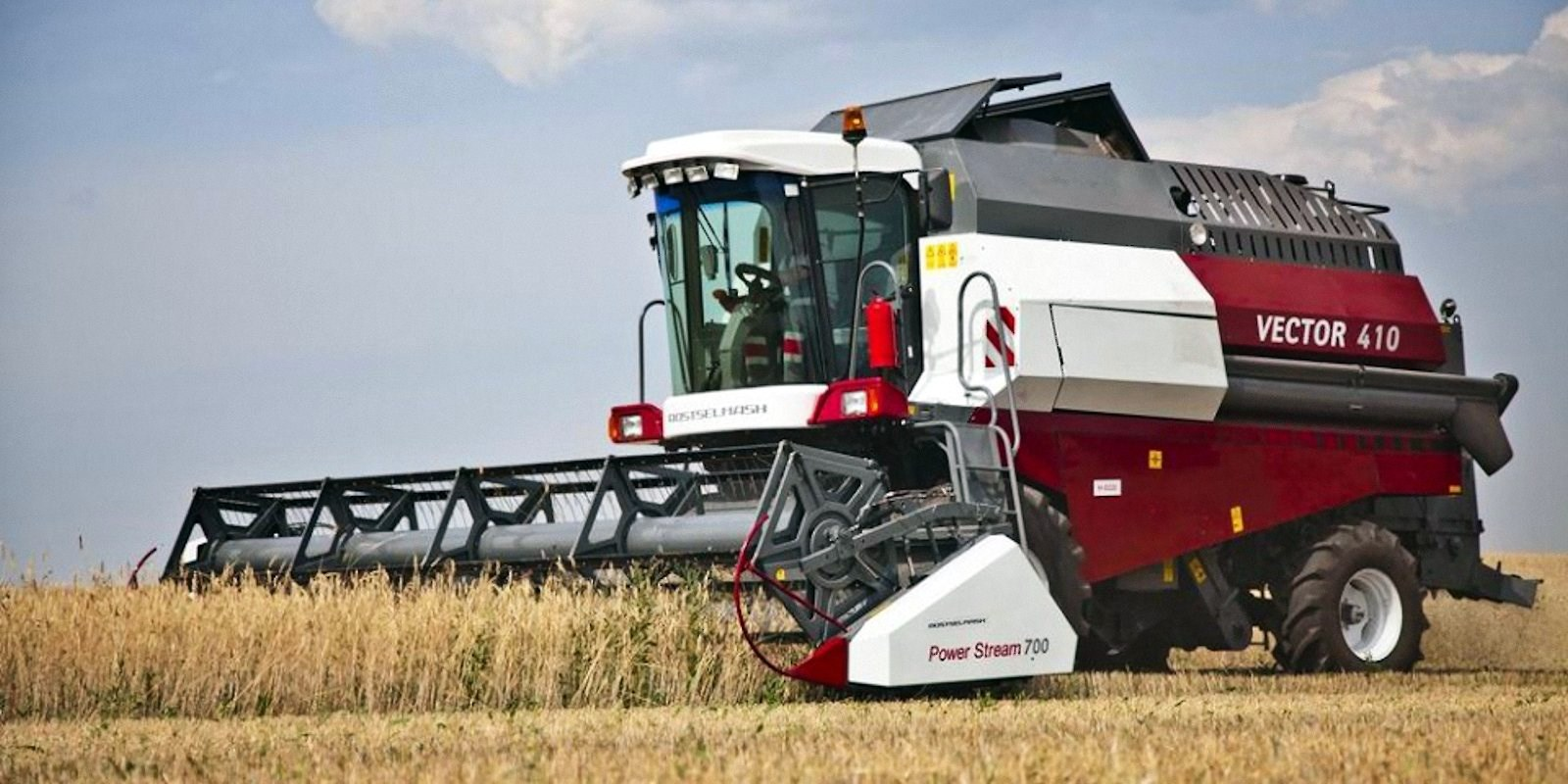 DNR Received 150 Tractors, Combine Harvesters, and Trailer ...