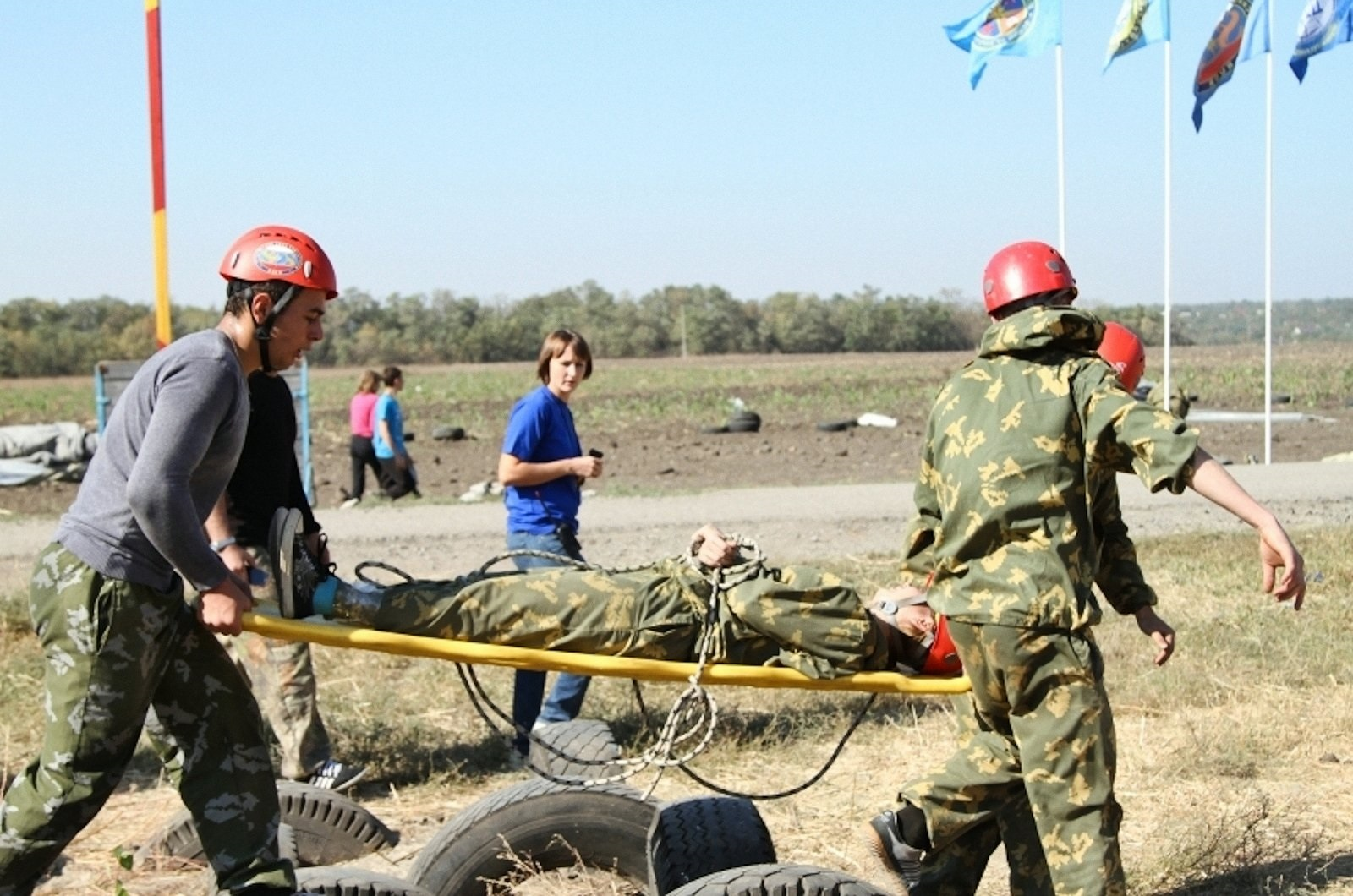 Rescuers in Rostov 67