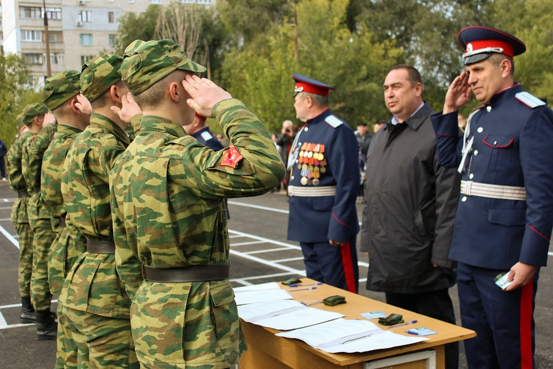 00 lugansk pr lnr cossack cadet corps 01 191015