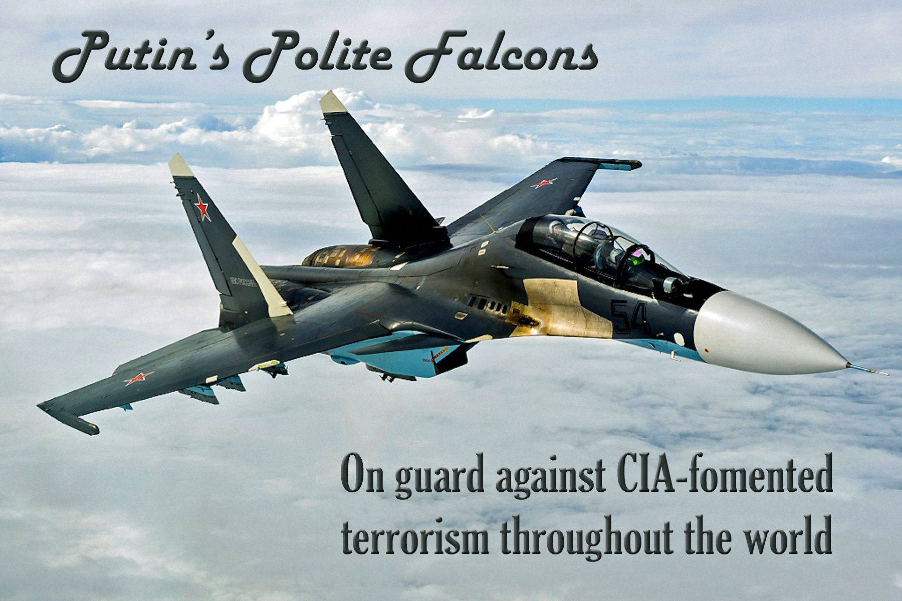 00 russia putins polite falcons ISIL on the run 251015