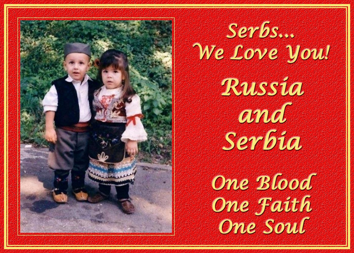 00 serbs we love you 141115