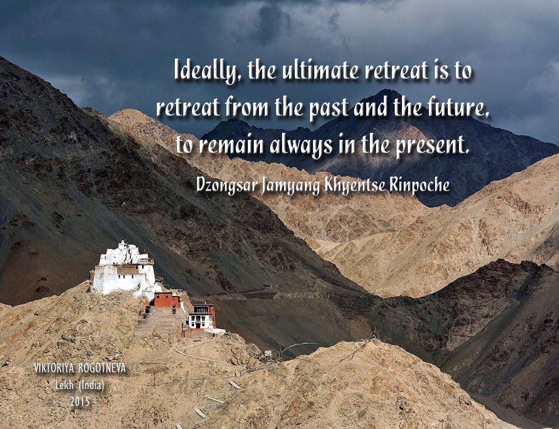 00 Viktoriya Rogotneva. Lekh (India). Buddhist saying. 2015