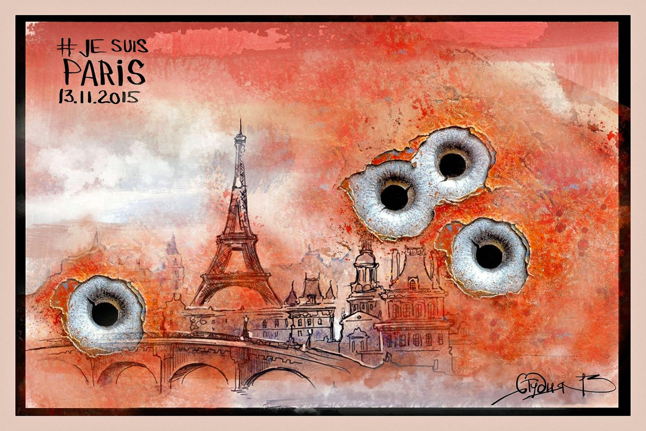 00 Vitaly Podvitsky. Je Suis Paris 2. 2015