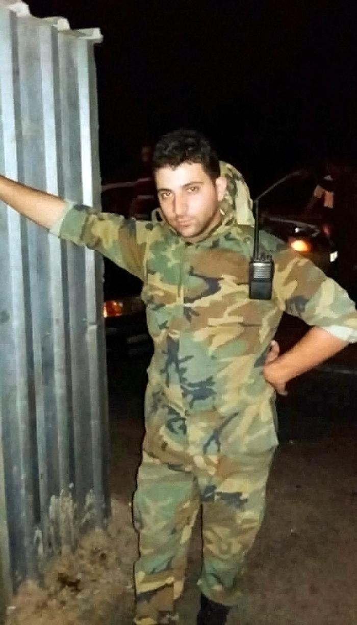 00 Joseph Moussa. Syria. soldier 191215