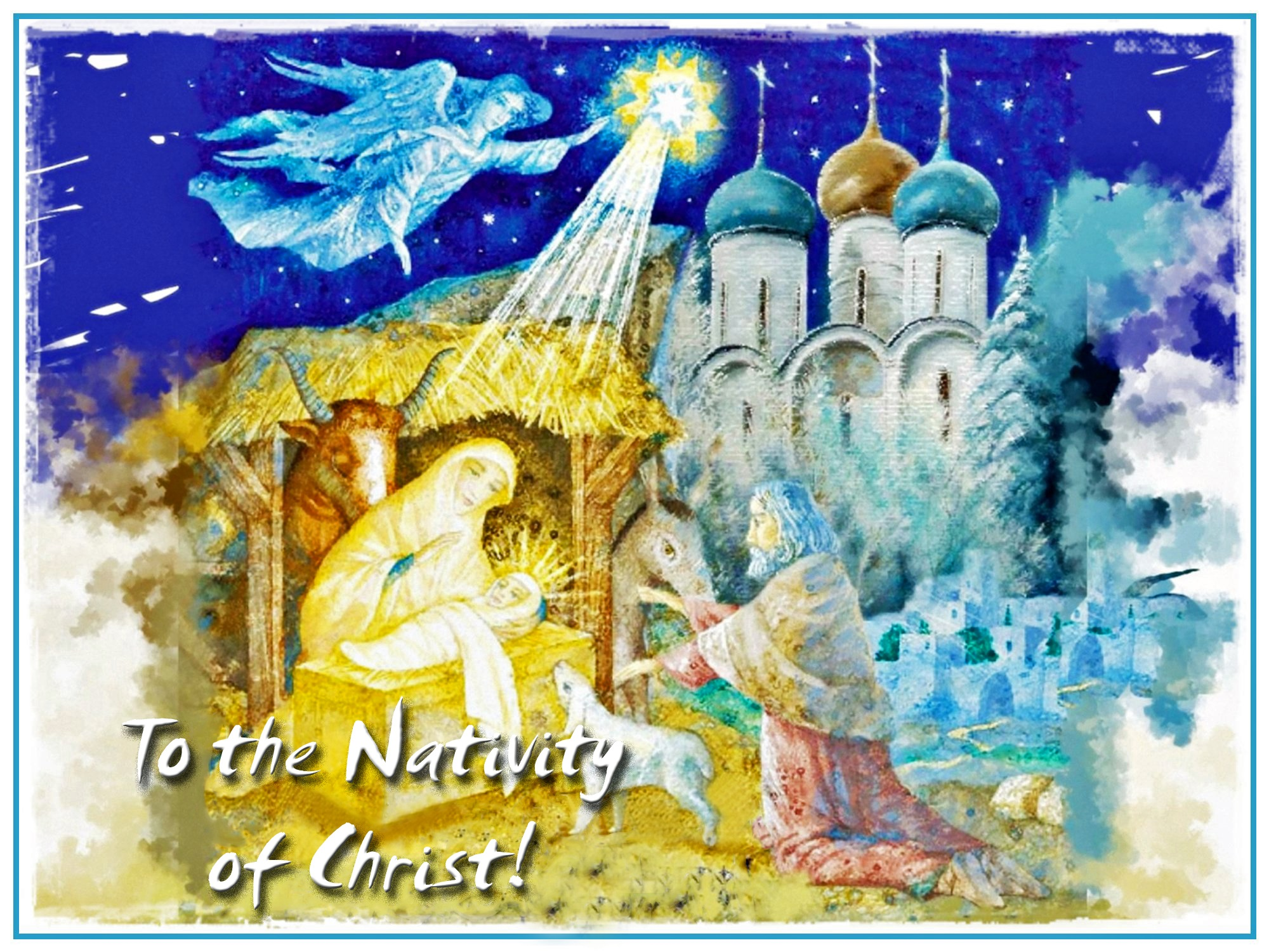 00 Vitaly Podvitsky. To the Nativity of Christ! 2015