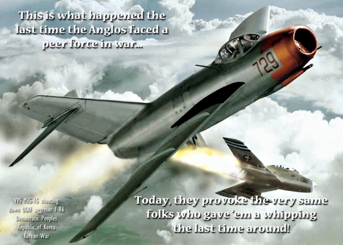 00 Mig-15 shooting down F-86 231215